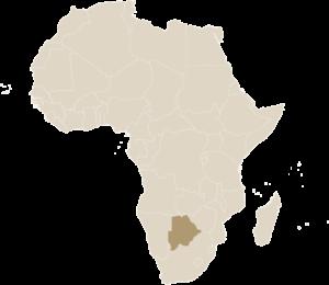 Luxe Safari Botswana Kaart Afrika | Luxe Safari