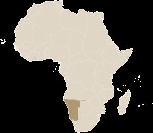 Luxe Safari Namibië Kaart Afrika | Luxe Safari