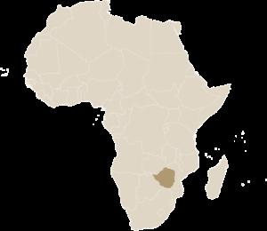 Luxe Safari Zimbabwe Kaart Afrika | Luxe Safari