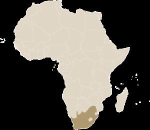 Luxe Safari Zuid-Afrika Kaart Afrika | Luxe Safari